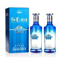 【酒界网】红星 43度 红星蓝瓶二锅头(12)陈酿 500ml * 2瓶