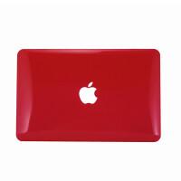 ikodoo爱酷多 Macbook Air 11.6寸苹果笔记本保护壳 水晶壳 透红
