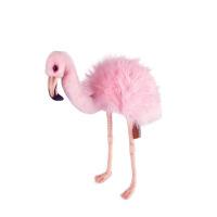 粉色火烈鸟玩偶女友礼物手工仿真动物毛绒玩具