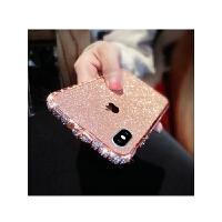 苹果6s手机壳边框韩国潮牌女款6plus全包护套iphone6金属闪粉水钻