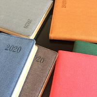 2020年历日程本计划本A5中号效率手册笔记本商务日历记事本年一天一页定制公司LOGO