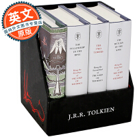 霍比特人 指环王 英文原版 中土世界 礼盒收藏套装 The Middle-Earth Treasury 80周年纪念