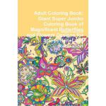 预订 Adult Coloring Book: Giant Super Jumbo Coloring Book of