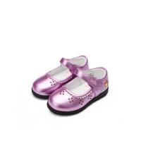 【99元任选3双】迪士尼Disney童鞋小皮鞋时尚公主鞋 DF0097