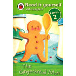 Ladybird:The Gingerbread Man(Read It Yourself-Level 2) 小瓢虫分级读物:《姜饼人》(阅读级别:2)ISBN 9781409303930