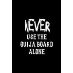 预订 Never Use The Ouija Board Alone: Custom Interior Grimoir