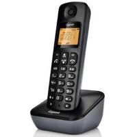 集怡嘉 A190L 单机 星际黑 Gigaset原西门子品牌电话机A190L数字无绳电话单机中文显示双免提屏幕背光家用