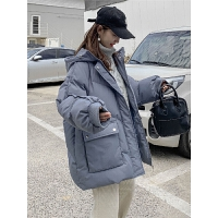 韩版宽松冬季外套小个子孕后期孕妇棉衣冬装棉袄