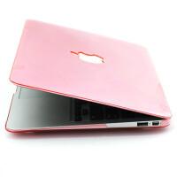 ikodoo爱酷多 Macbook Air 11.6英寸苹果笔记本保护壳 水晶壳 透粉