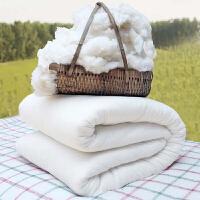 棉被冬被加厚保暖新疆纯棉花被子全棉被芯双人垫被褥单人棉絮床垫