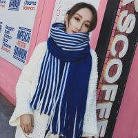 新品围巾女秋冬季韩版百搭长款加厚披肩保暖女士针织毛线学生冬天围脖