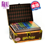 【中商原版】哈利波特英文原版正版全套豪华精装Harry Potter Boxed Set 美版 成人版精装