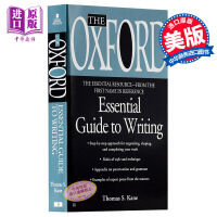【中商原版】牛津写作指南 英文原版 The Oxford Essential Guide to Writing Thomas S. Kane