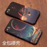 【支持礼品卡】苹果7手机壳潮流iphone6sPlus保护套创意复古男女款5S硬壳磨砂新