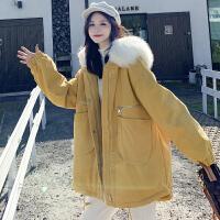 冬季孕后期大码短款时尚款棉衣秋冬季孕妇外套