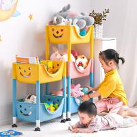 儿童玩具收纳架落地多层家用客厅大容量整理架宝宝书架零食置物架