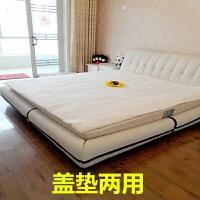 棉絮床垫褥子1.5m加厚垫背床褥1.8米双人棉花被芯单人学生宿舍0.9