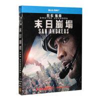 正版欧美电影高清1080P 末日崩塌 蓝光碟片BD50 巨石强森 光盘