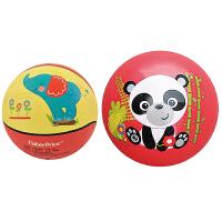 【当当自营】费雪(Fisher Price)儿童玩具球二合一 (7寸篮球大象+9寸拍拍球红色 赠送打气筒)