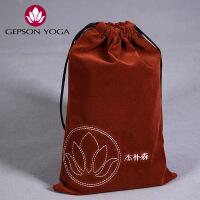 杰朴森yoga瑜伽铺巾专用收纳绒布包瑜伽服瑜珈毯专用收纳绒布袋