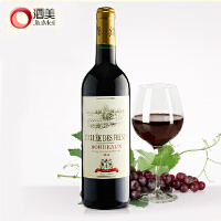 酒美网 法国波尔多原瓶进口 爱丽丝AOP干红葡萄酒750ml