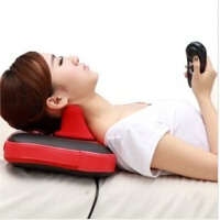 路奈 颈椎按摩器 颈部腰部推拿多功能按摩枕 按摩垫LN-14