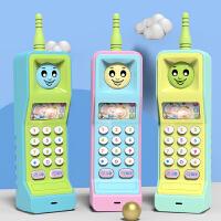 儿童大哥大玩具手机婴儿女孩宝宝电话可咬防口水0-1-3岁