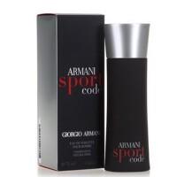 阿玛尼黑色密码男士香水50ml