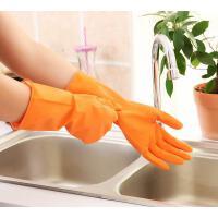 懿聚堂 橡胶手套清洁乳胶洗衣服洗碗胶皮手套耐用塑胶做家务手套