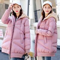 2019冬季新款大衣孕后期宽松加厚棉袄孕妇冬装棉衣外套