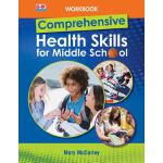 预订 Comprehensive Health Skills for Middle School, Workbook