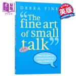 【中商原版】谈话的艺术 英文原版 The Fine Art of Small Talk: How to Start a