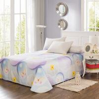 当当优品 纯棉斜纹床上用品 床单250*230cm 魔力圈圈