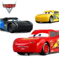 儿童遥控汽车赛车总动员Cars3闪电麦昆黑风暴男孩跑车玩具车礼物