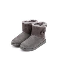 【99元任选2双】迪士尼Disney童鞋女童冬季加绒保暖靴子 S73562 S73539