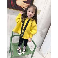 一一宝贝女童卫衣裙子加厚2018秋冬新款韩版连帽外套宝宝洋气儿童