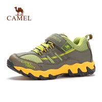 Camel骆驼 户外童鞋徒步鞋 秋冬新款防护舒适防滑儿童徒步鞋
