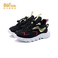 【每满100-50预估价:101】361度童鞋男童运动跑步鞋2021春季新款透气小童鞋子