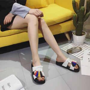 ELEISE美国艾蕾莎新品060-188学院女士凉拖鞋