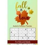 预订 Fall in Love Autumn Sudoku Puzzles: Seasonal Numbers Sol