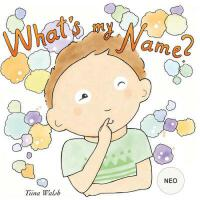 预订 What's my name? NEO [ISBN:9781975956745]
