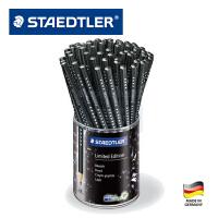德国STAEDTLER施德楼 1339HB铅笔金属磨砂黑施华洛世奇钻石限量版