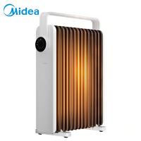 美的(Midea)取暖器电油汀电暖器气片家用客厅卧室13片加宽油丁干衣加湿防烫油丁暖风机NYX-K
