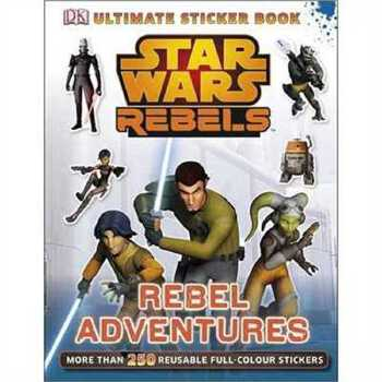 星球大战  Star Wars Rebels Rebel Adventures Ultimate Sticker Book 2147483647