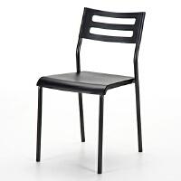 【品牌直供】日本SANWA 150-SNC060BK 可叠放收纳的办公椅 包邮电脑椅办公椅 读书椅子老板椅转椅 家用椅子
