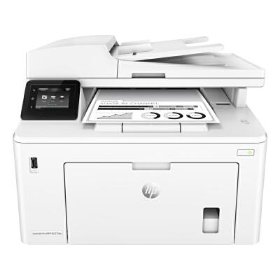 HP LaserJet Pro MFP M227fdw四合一无线黑白激光一体机QQ无线物联(打印、复印、扫描、传真、自动双面打印) 自动双面打印 多页连续复印扫描