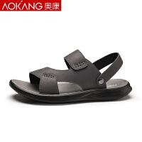 奥康凉鞋男士2020新款夏季软底两用凉鞋透气沙滩鞋凉拖鞋