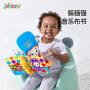 【2件5折】jollybaby祖利宝宝 旗舰店躲猫猫亲子手掌音乐布书6-8-12个月宝宝益智玩具