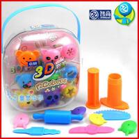 智高 3D彩泥 12色橡皮泥 动物/恐龙模具