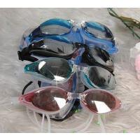 金格尔8808泳镜い时尚防水防雾 防紫外线 电镀镜片